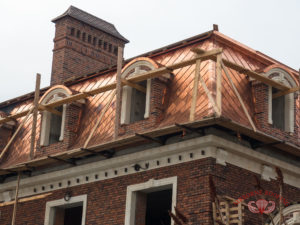 A Lovely Copper Roof During Building Revival