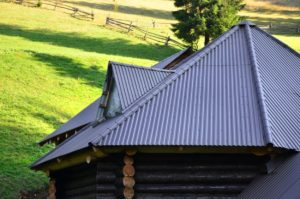 A Corrugated Aluminum Roof in Rural Settings